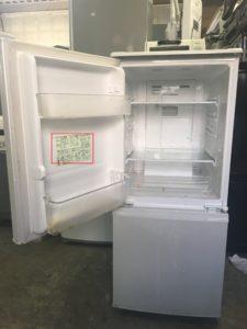 冷蔵庫の年式・容量の確認方法