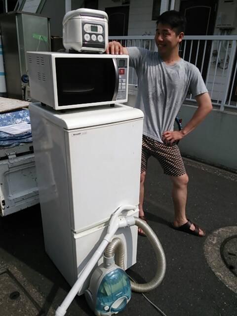 足立区 冷蔵庫の回収