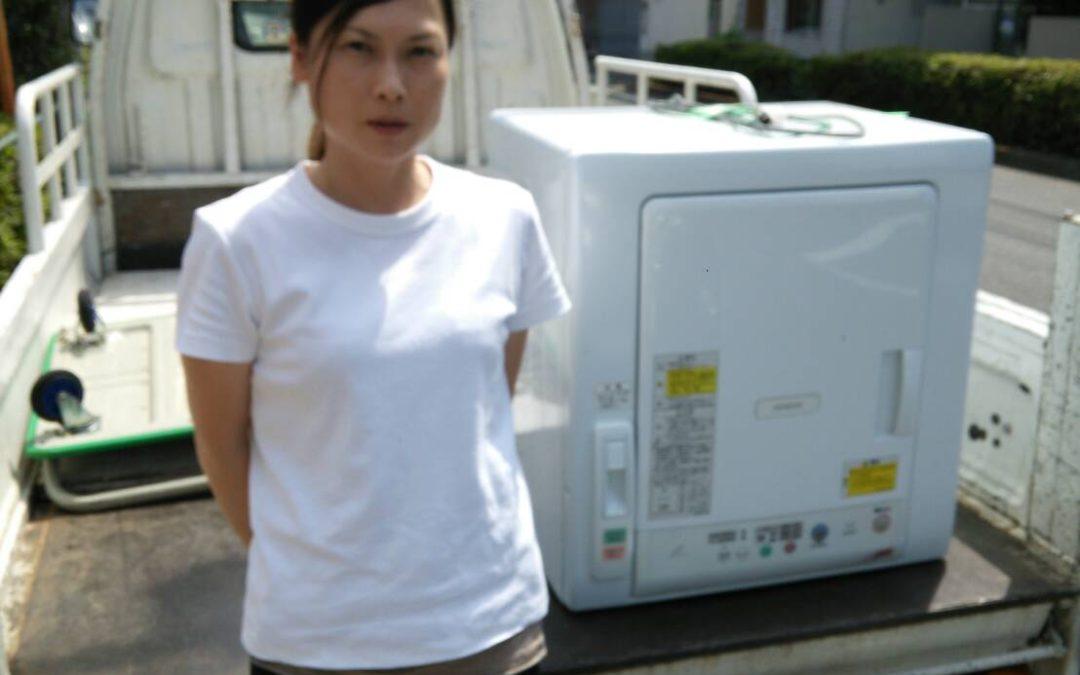 杉並区 衣類乾燥機の回収