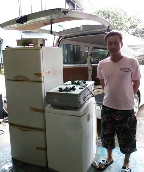 冷蔵庫と洗濯機のお持込み