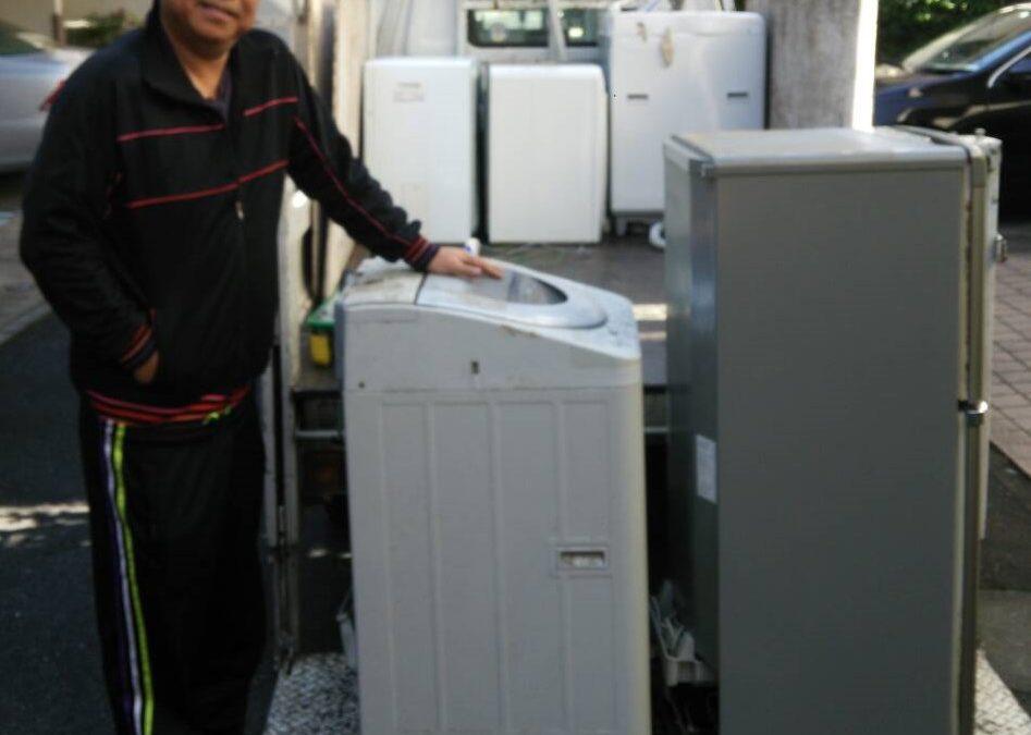 世田谷区と渋谷区 冷蔵庫、洗濯機の回収