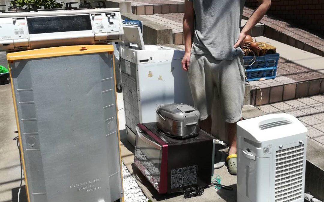渋谷区と豊島区 冷蔵庫、洗濯機などの回収