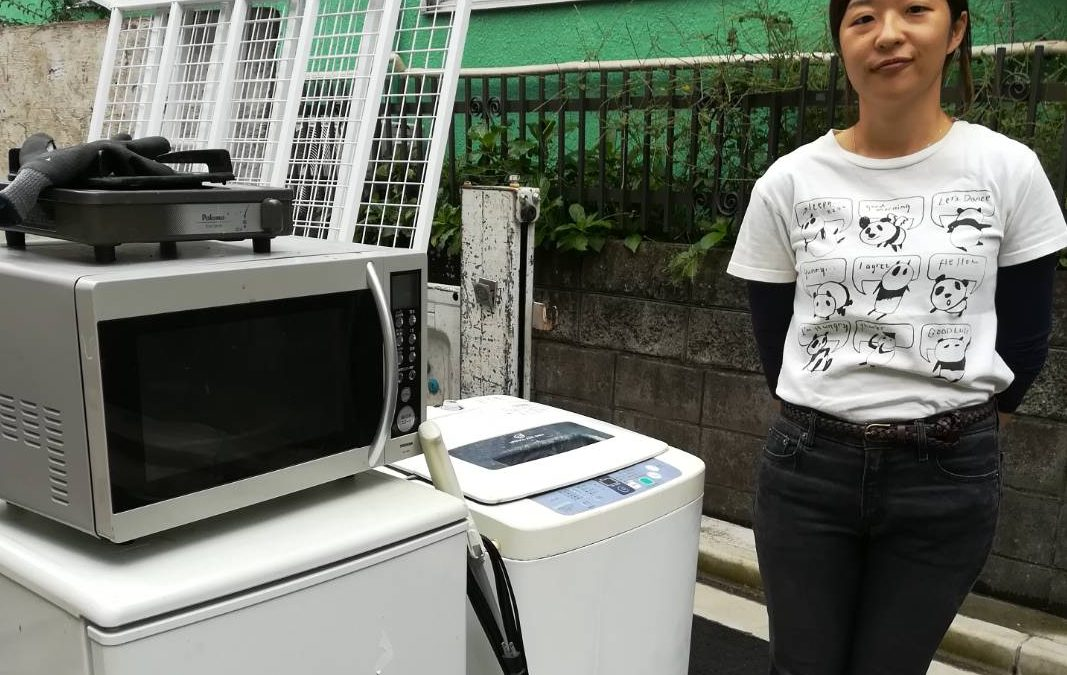 足立区 冷蔵庫・洗濯機などの回収