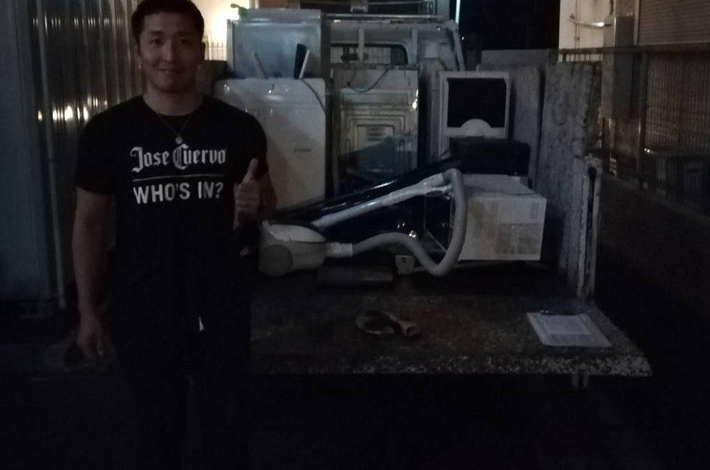 荒川区 冷蔵庫と洗濯機の回収