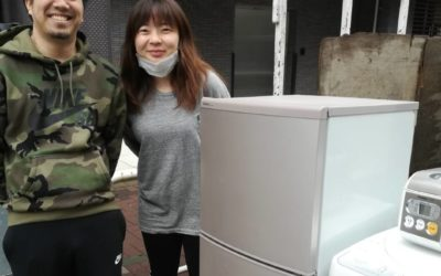江東区と豊島区 冷蔵庫や洗濯機の回収