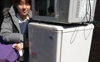 大田区と中野区 洗濯機などの回収