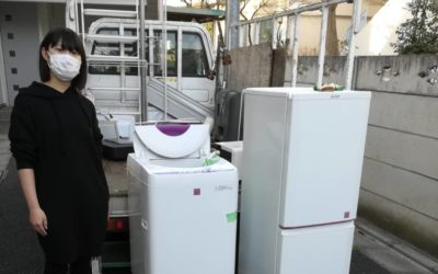 豊島区と杉並区 冷蔵庫、洗濯機の回収