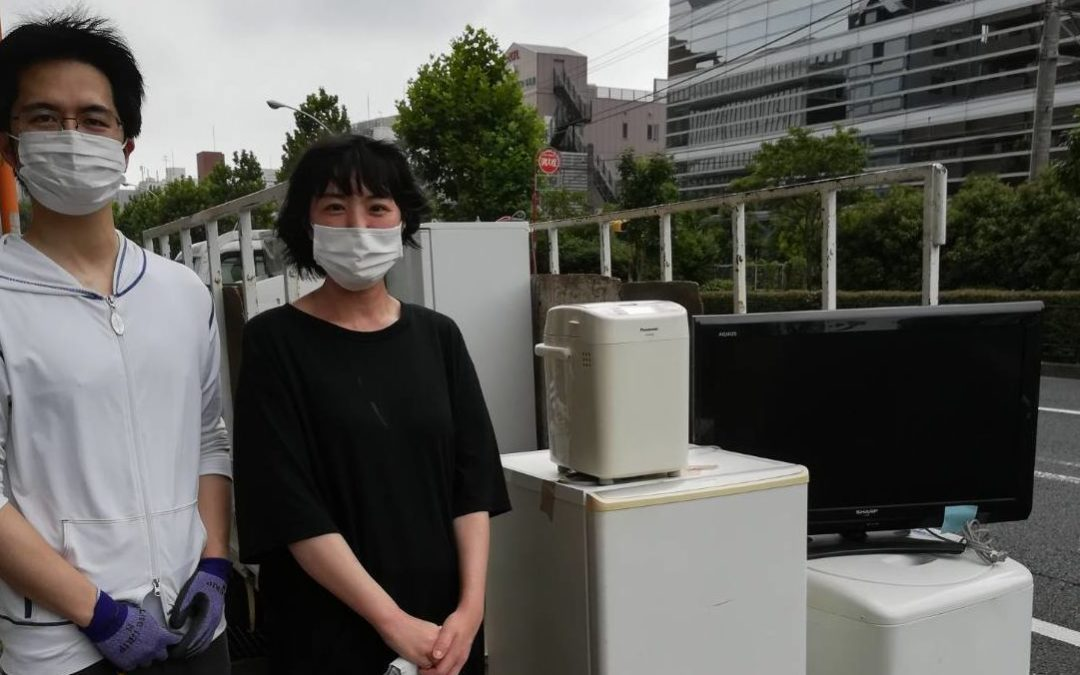 新宿区と豊島区の冷蔵庫と洗濯機の回収