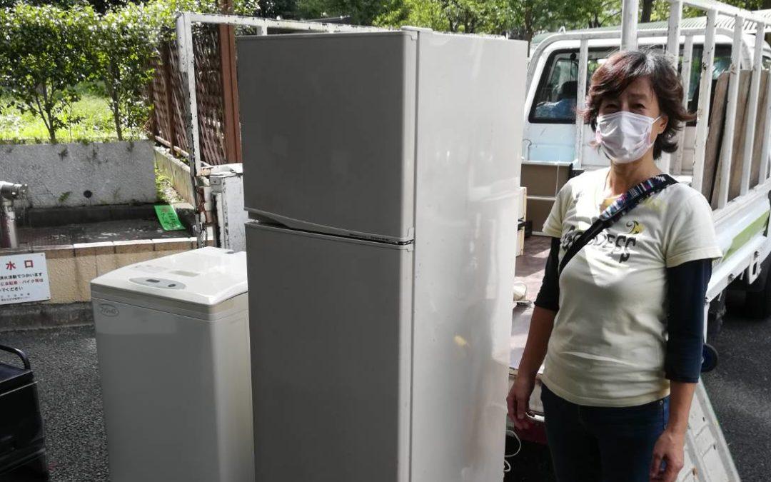 北区と板橋区 冷蔵庫と洗濯機の回収
