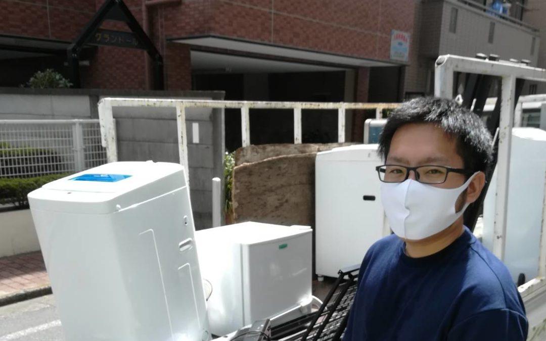 大田区と板橋区  冷蔵庫や洗濯機など回収