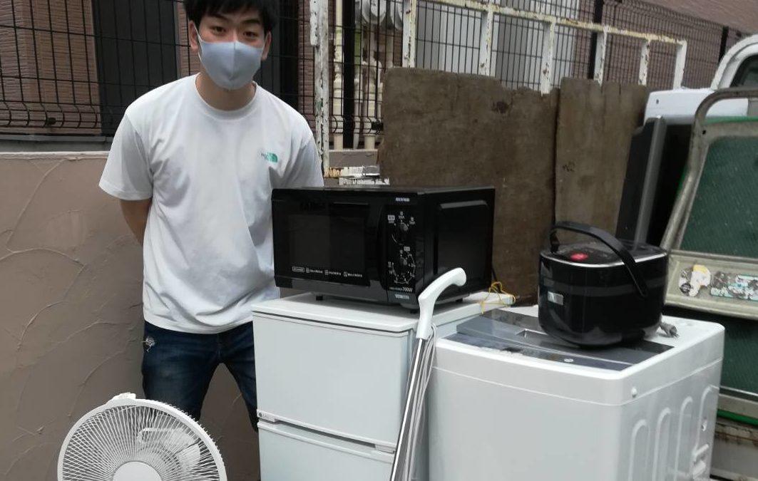 大田区 冷蔵庫と洗濯機の回収