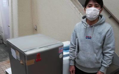 板橋区と台東区 冷蔵庫と洗濯機などの回収