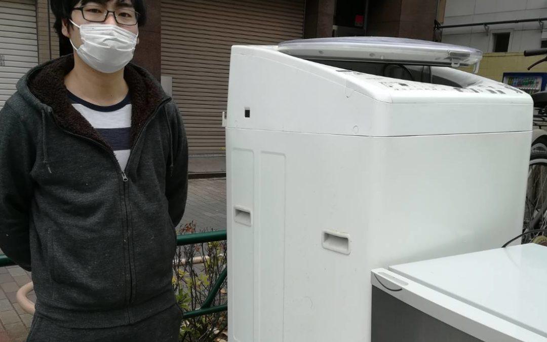 江東区と文京区 冷蔵庫と洗濯機などの回収