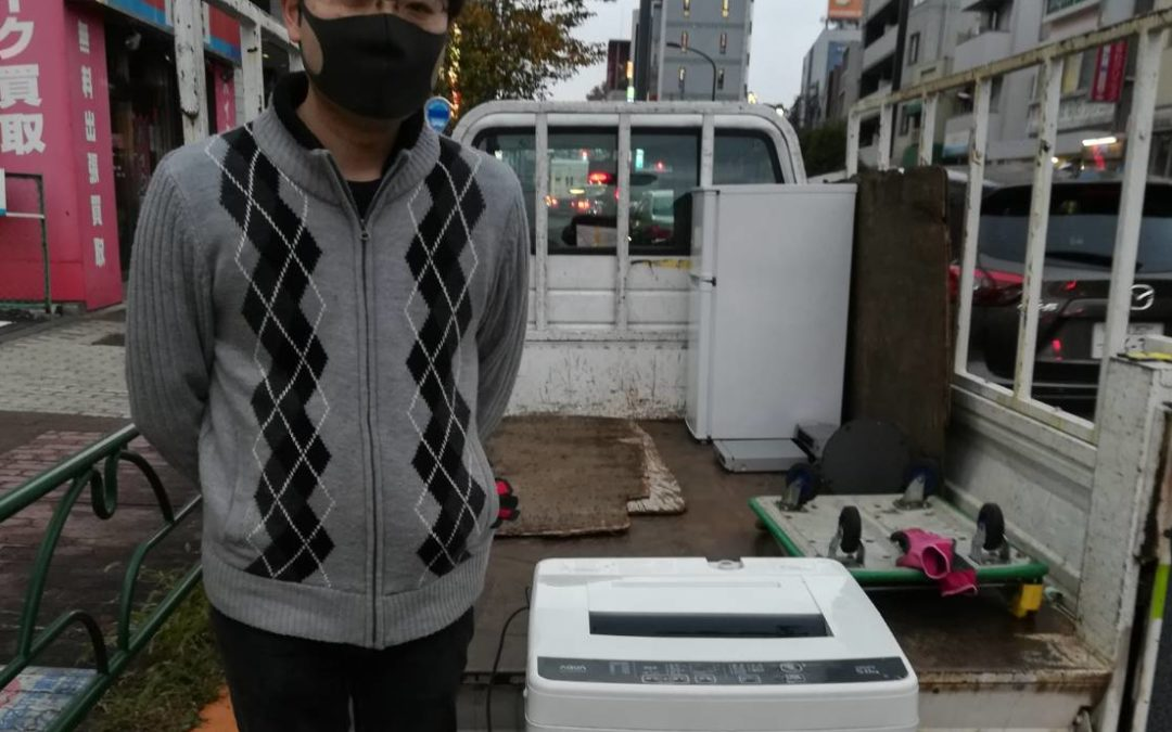 世田谷区と練馬区 ブラウン管テレビや洗濯機の回収