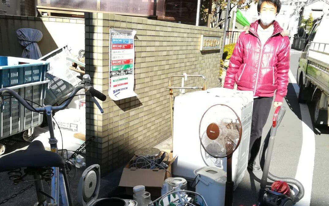 墨田区と北区 洗濯機の回収