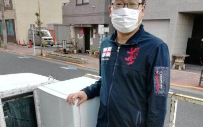 台東区と港区 冷蔵庫と洗濯機の回収