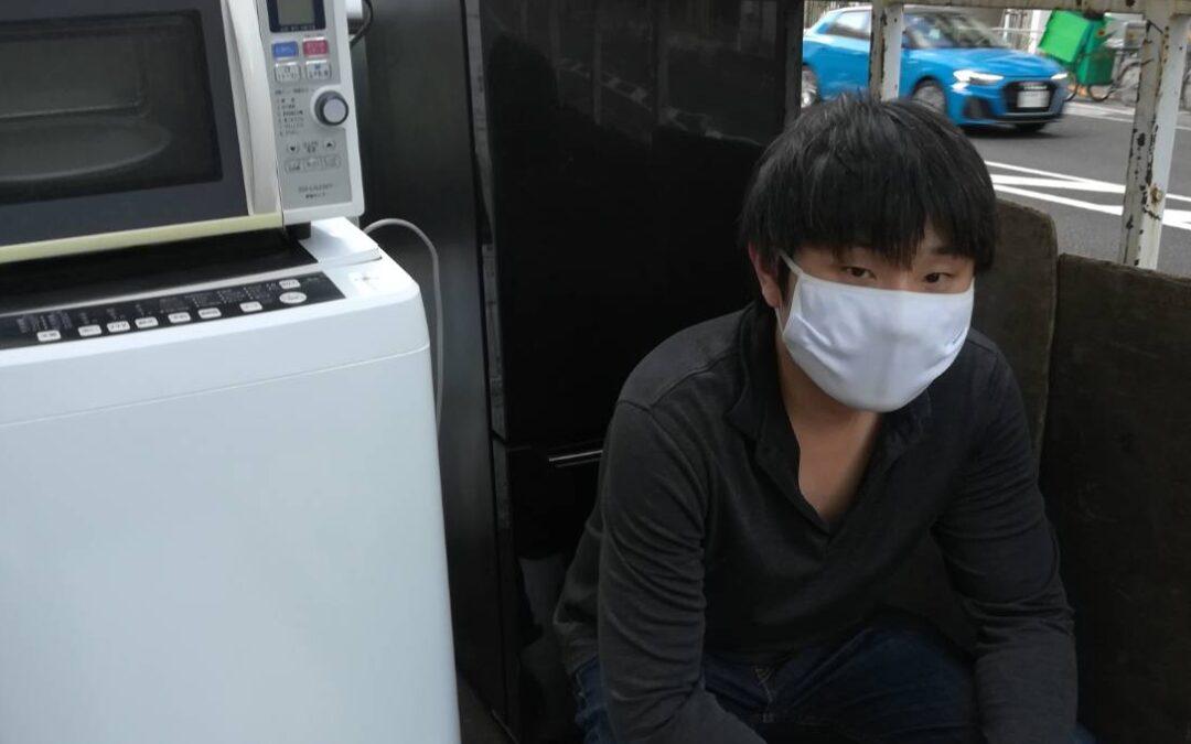 港区と豊島区 冷蔵庫と洗濯機などの回収