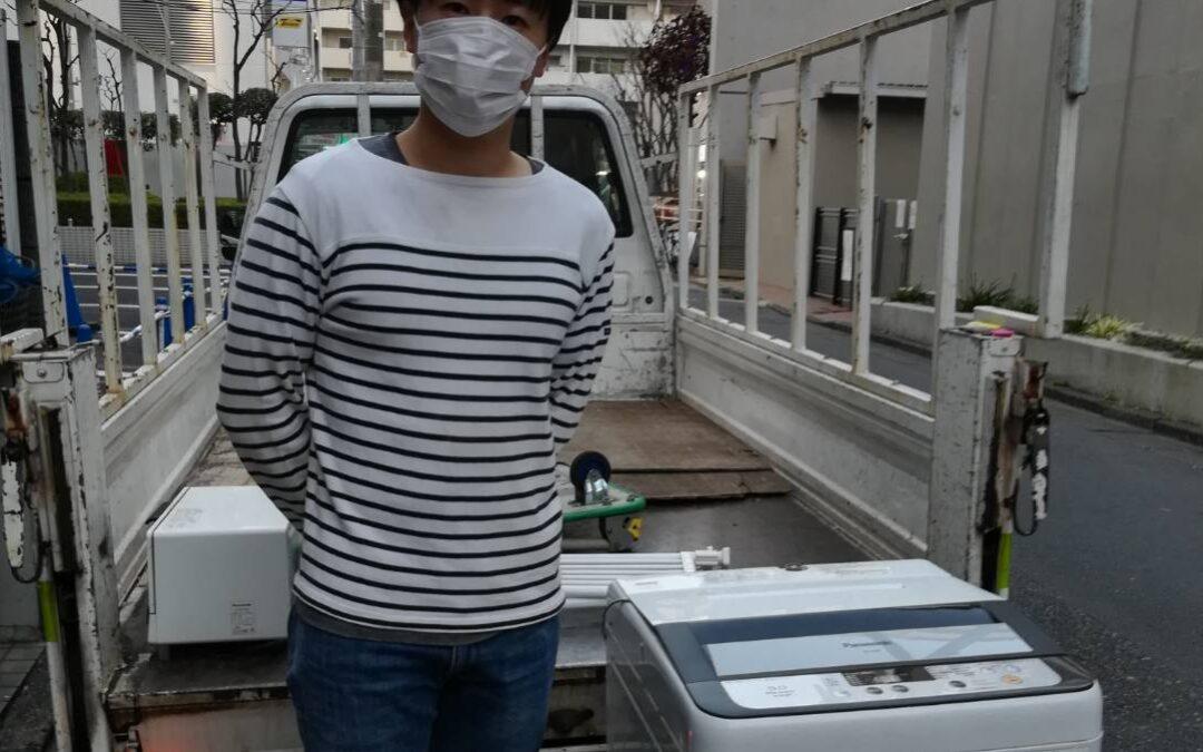 板橋区と江戸川区 エアコンや洗濯機の回収