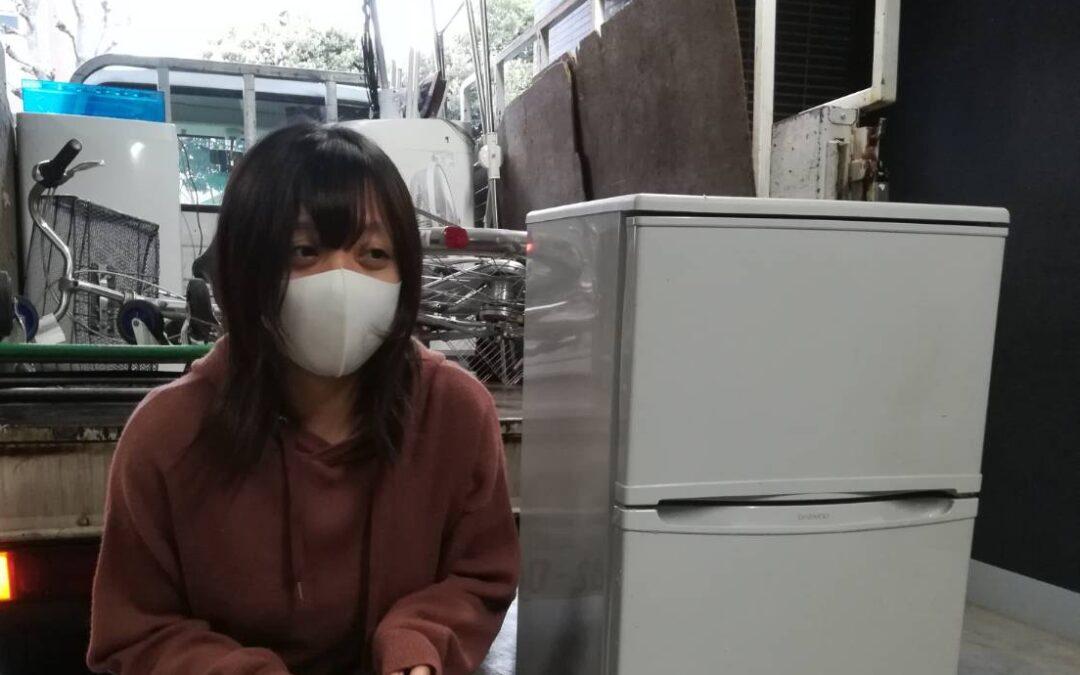 墨田区と世田谷 冷蔵庫の回収