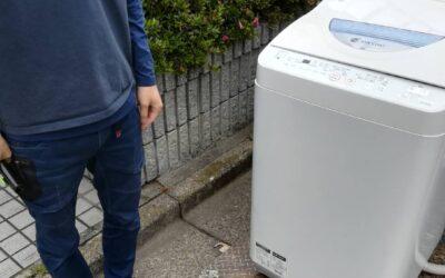 江東区と世田谷区 洗濯機や小物家電など回収