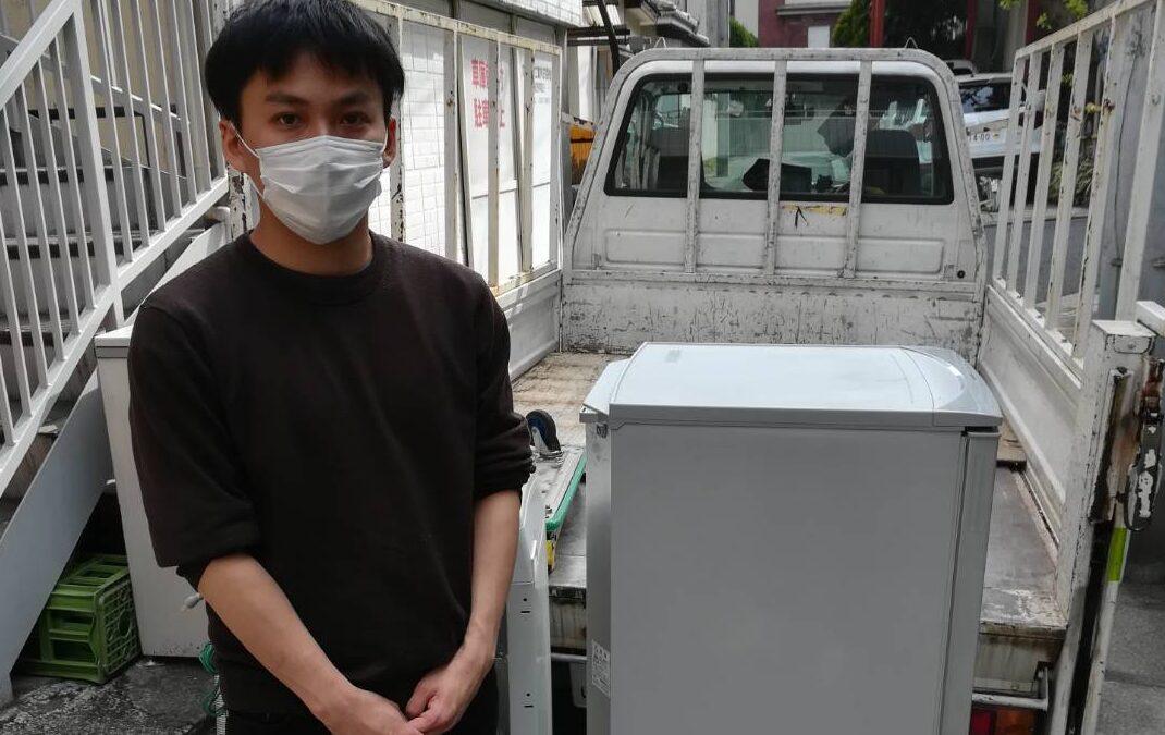 江東区と新宿区 冷蔵庫や洗濯機の回収