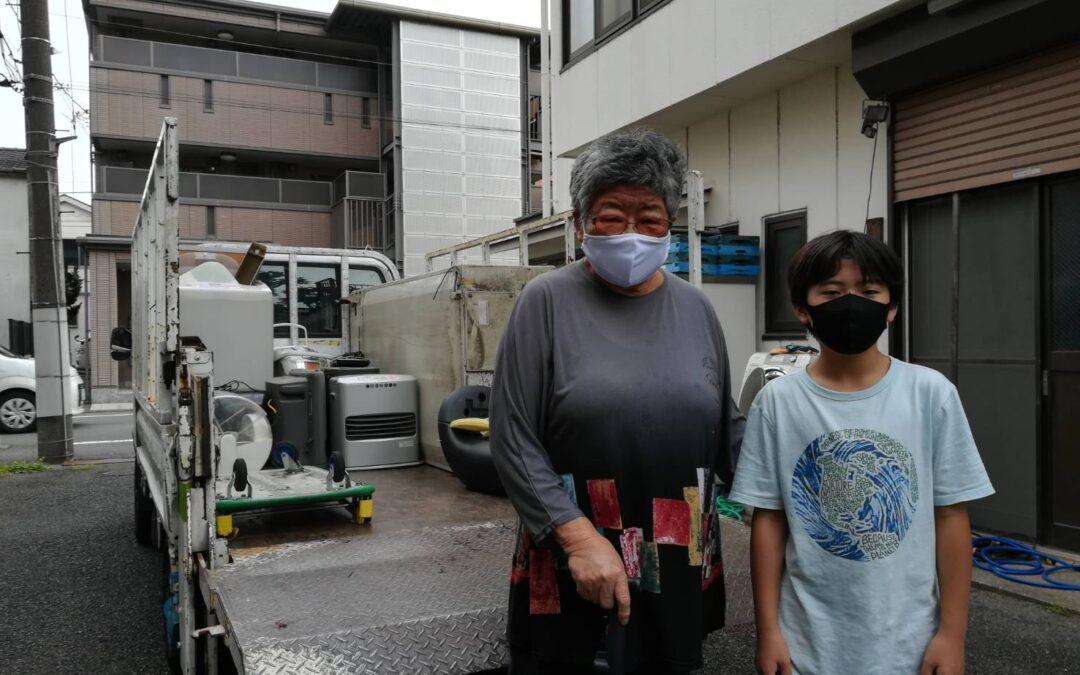 文京区と大田区 冷蔵庫や洗濯機の回収