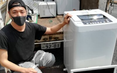 荒川区と世田谷区 洗濯機の回収
