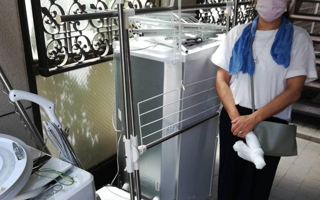 板橋区 冷蔵庫と洗濯機の回収