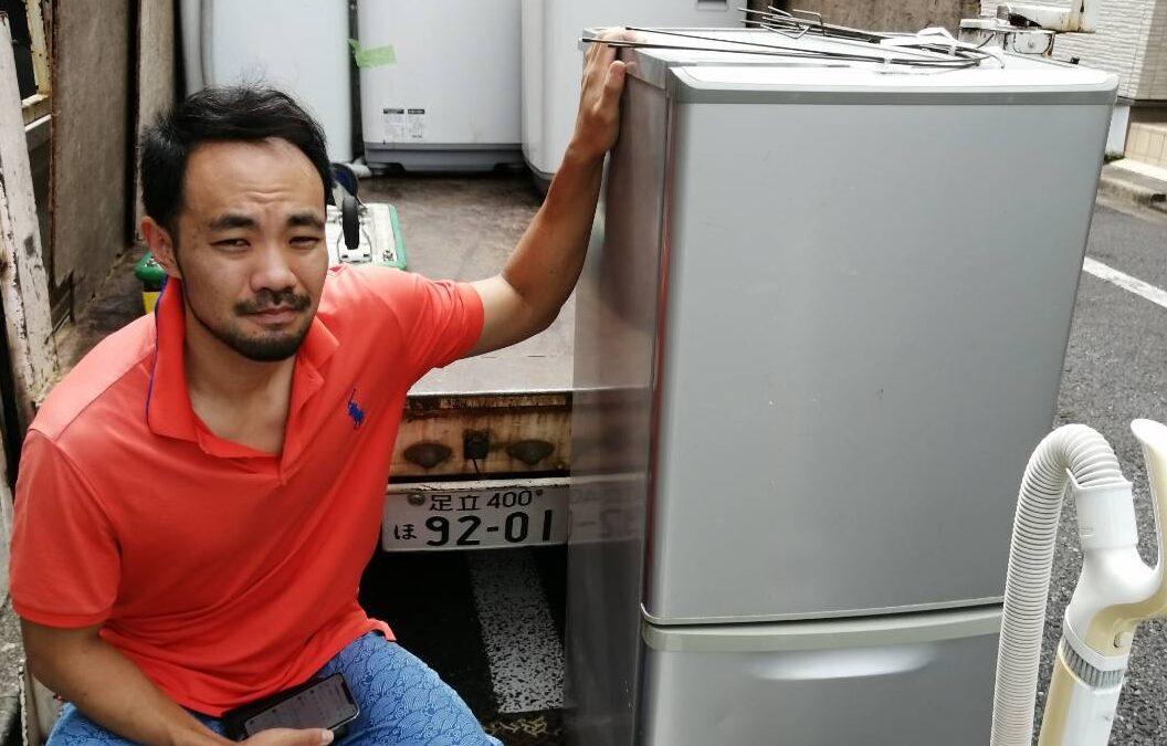 中野区と文京区 洗濯機や冷蔵庫の回収