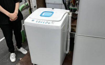 世田谷区と新宿区  冷蔵庫や洗濯機など回収