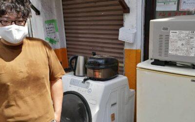 板橋区 冷蔵庫や洗濯機の回収