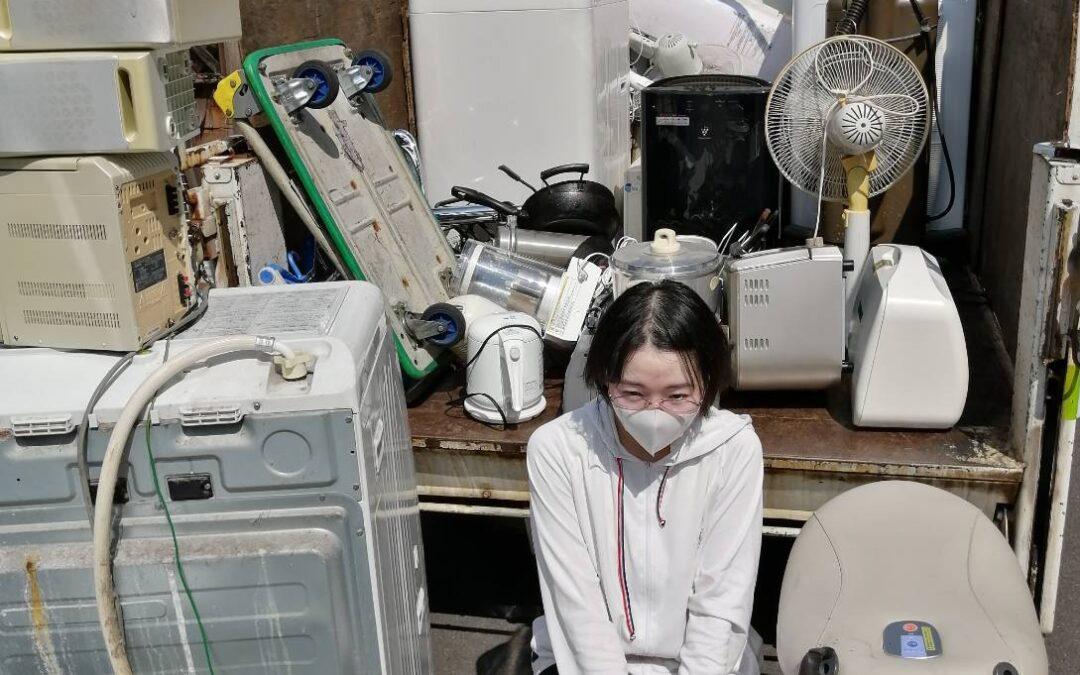 板橋区 ドラム式洗濯機の回収